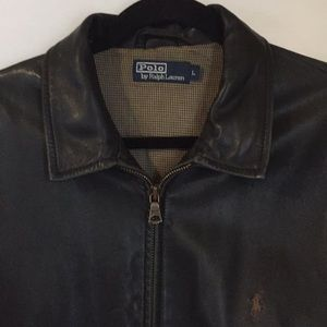 Polo leather large